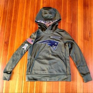 Nike New England Patriots Military Camo Hoodie